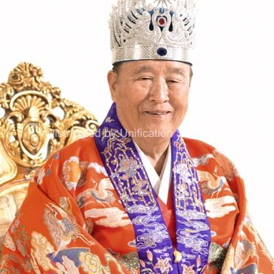 Photo Print: True Father in royal attire - Christ Kingdom Gospel - A Lifestyle Centered On God