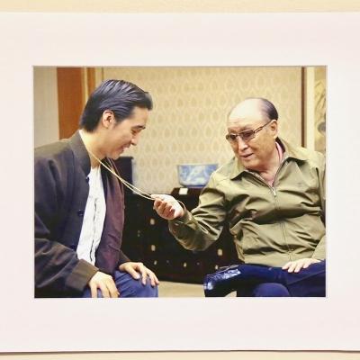 Photo Print: Father & Son / Tongil Necklace - Christ Kingdom Gospel - A Lifestyle Centered On God