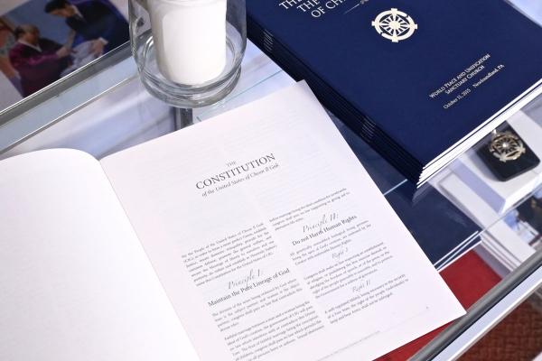 Cheon Il Guk Constitution - Christ Kingdom Gospel - A Lifestyle Centered On God