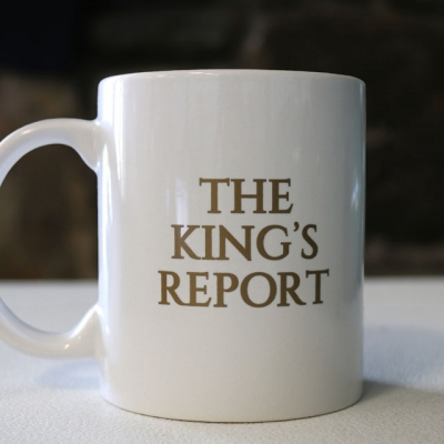 King Report's Mug - Christ Kingdom Gospel - A Lifestyle Centered On God