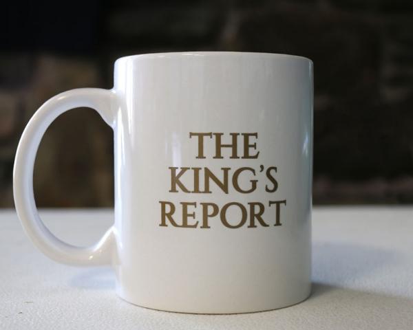 King Report's Mug - Christ Kingdom Gospel - A Lifestyle Centered On God