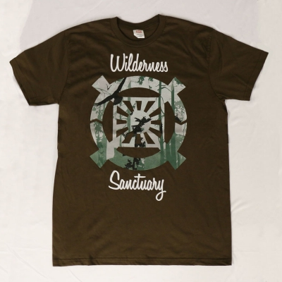 Wilderness Sanctuary T-Shirt - Christ Kingdom Gospel - A Lifestyle Centered On God
