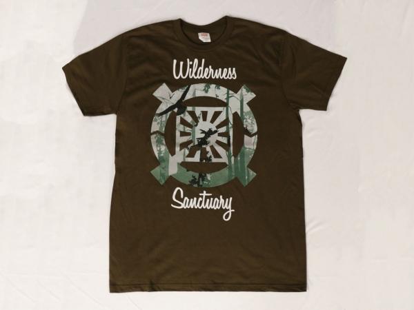 Wilderness Sanctuary T-Shirt - Christ Kingdom Gospel - A Lifestyle Centered On God