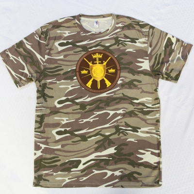 Peace Police Peace Militia Camo T-Shirt - Christ Kingdom Gospel - A Lifestyle Centered On God
