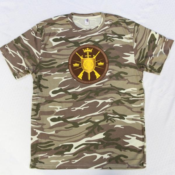 Peace Police Peace Militia Camo T-Shirt - Christ Kingdom Gospel - A Lifestyle Centered On God