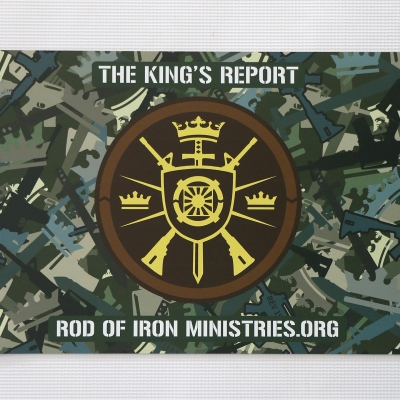 Rod of Iron Car Magnet - Christ Kingdom Gospel - A Lifestyle Centered On God