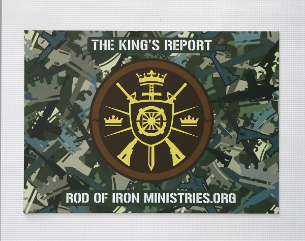 Rod of Iron Car Magnet - Christ Kingdom Gospel - A Lifestyle Centered On God