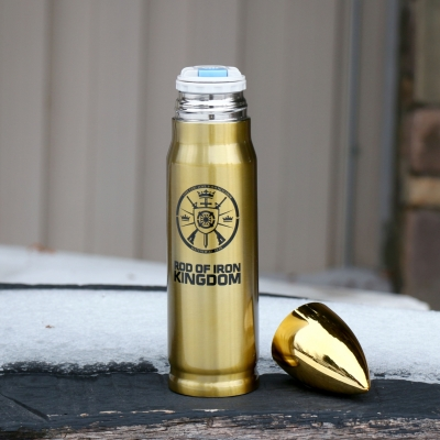 Bullet Thermos - Christ Kingdom Gospel - A Lifestyle Centered On God