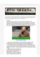 2016-03-07 Fake Peace. Real Freedom