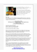 2018-03-07 Hyung Jin Nims 2.28 Book of Life Blessing Prayer