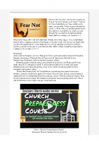 2020-03-16 Fear Not